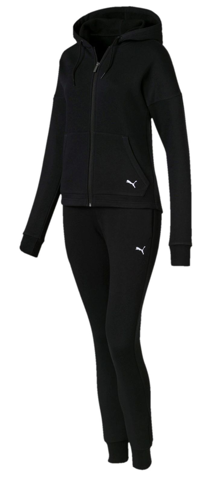 Puma Damen weicher Freizeit-Sport-Trainingsanzug Clean Sweat Suit CL ...