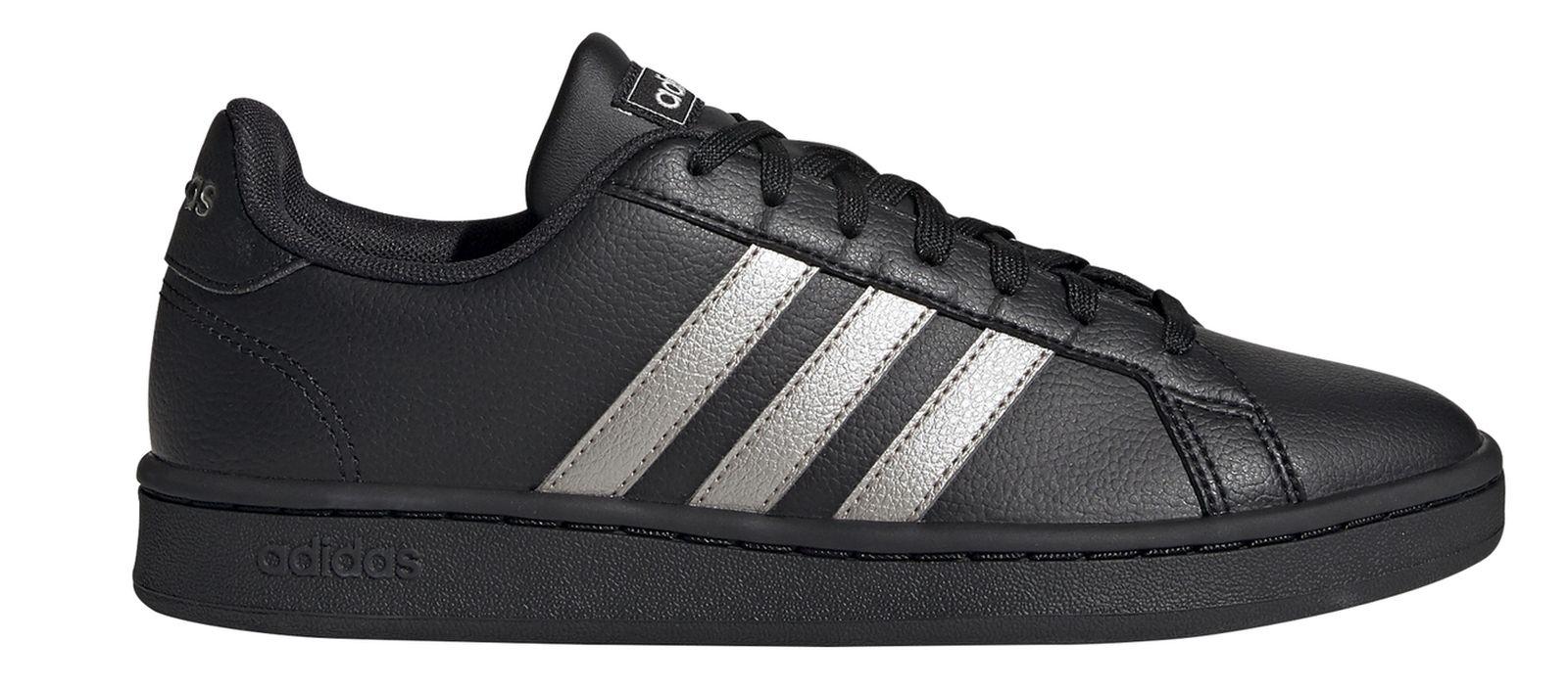 2 Fitness Damen schwarz 0 Sneaker Grand COURT adidas Core Details zu Freizeit Schuh 76vbfYgy