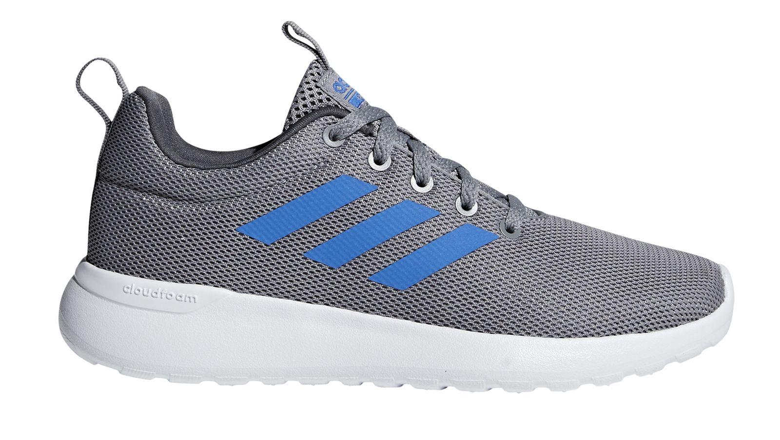 adidas Lite Racer Kinder Sneaker Grau Schuhe, Größe:33