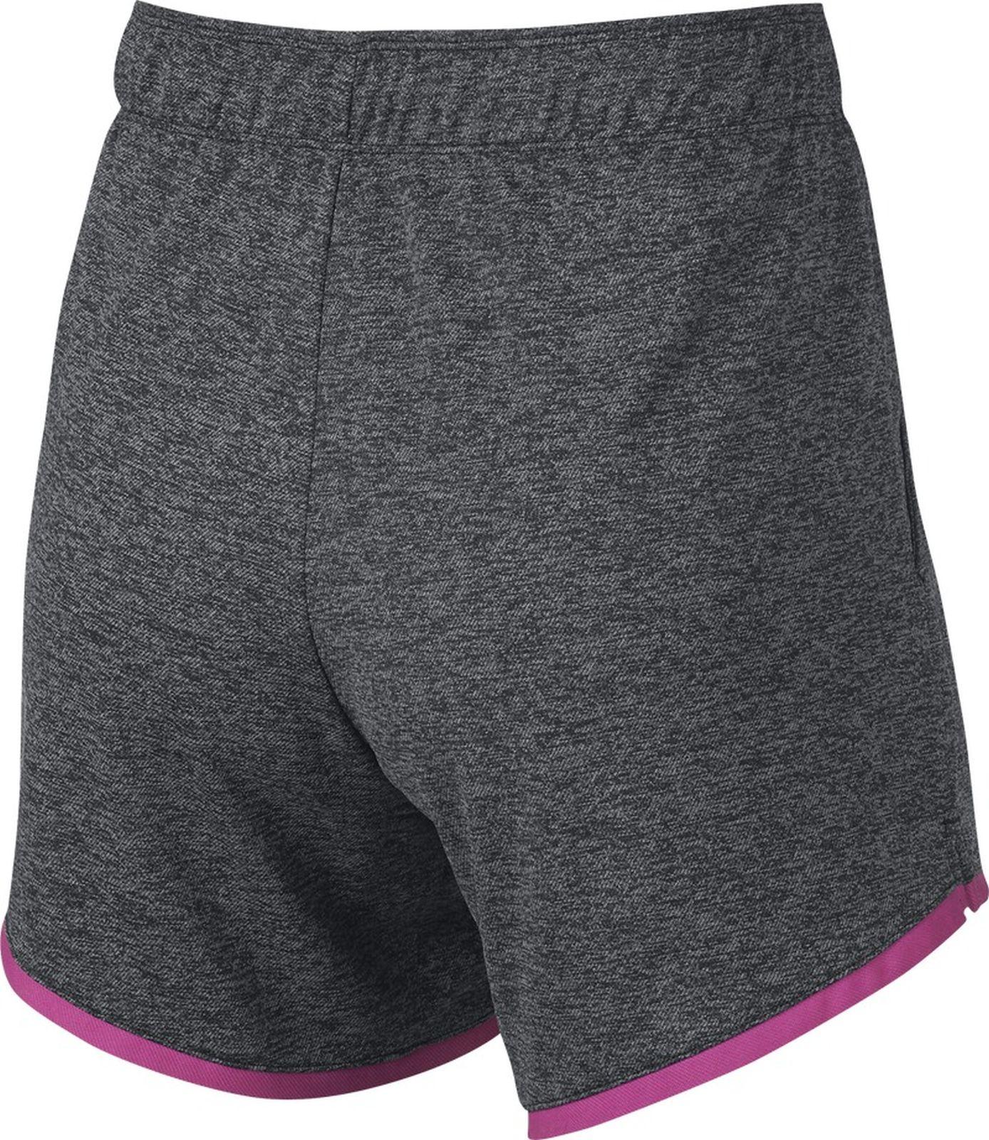 Nike Damen Fitness-Sport-Shorttight Trainingsshort Sportswear Leg-A-See  grau