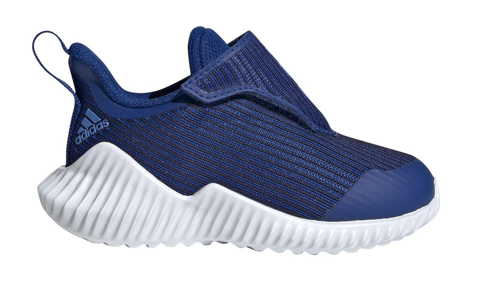 Détails sur Adidas Performance Enfant en Bas Âge Loisirs Chaussures Fortarun AC I Bleu Blanc