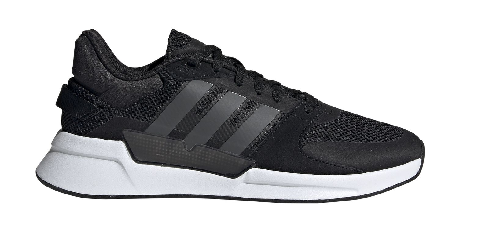 Details about Adidas Performance Men's Leisure Fitness Trainers Shoes RUN90S Black