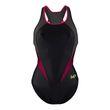 Aqua Sphere Michael Phelps Damen Schwimm-Freizeit-Badeanzug Hanoi schwarz pink Bild 3