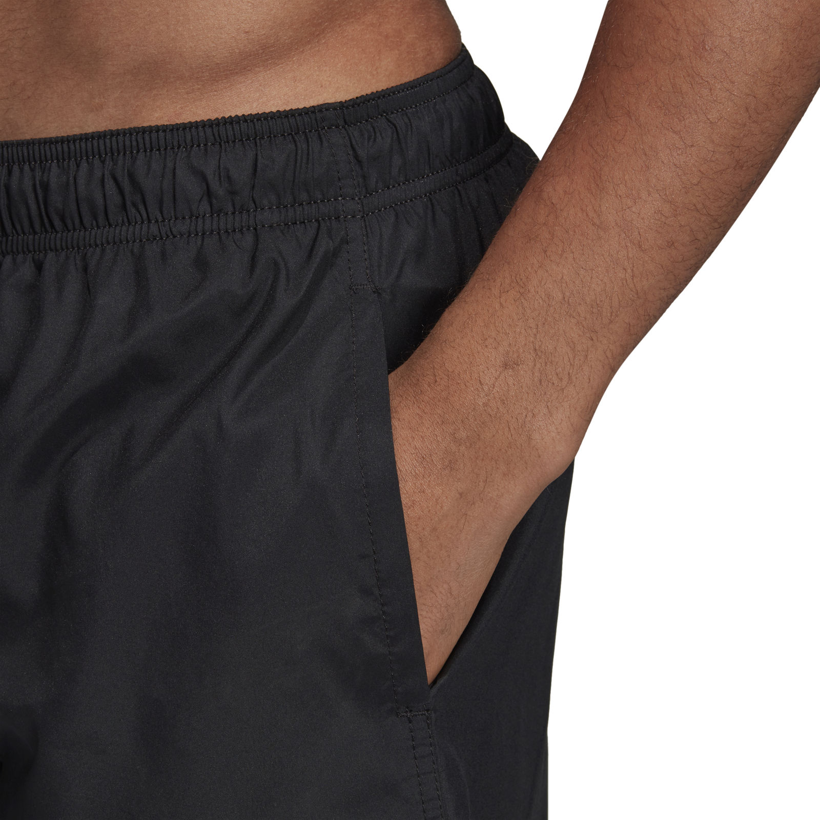 Adidas 3S SH CL Swim Sport Shorts Mens Short BlackWhite