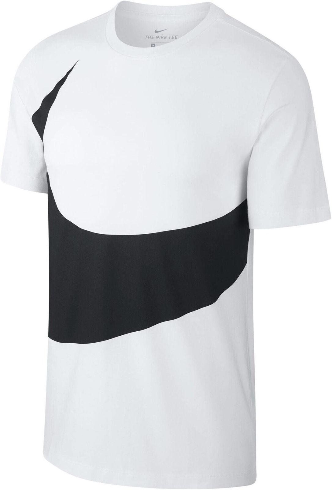 Nike señores Sport-Fitness-t-shirt nike Nsw té HBr negro blanco ar5191 010