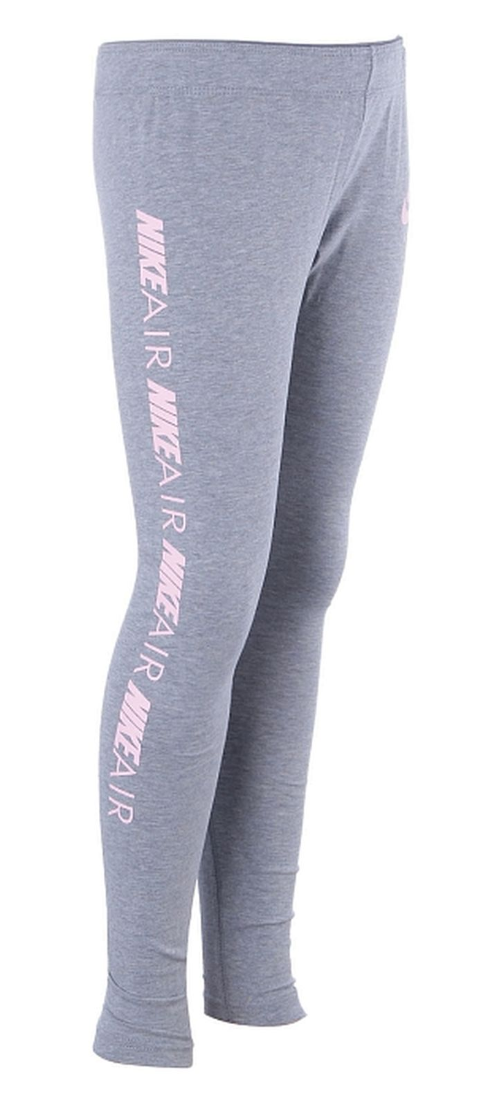 Nike Mädchen Sport-Leggings Fitnesshose Trainingshose NIKE NSW FAVORITES grau