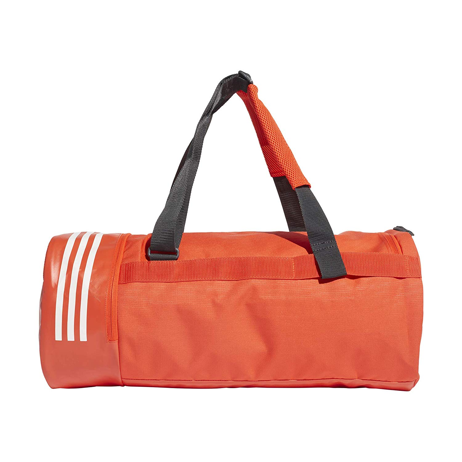 Adidas Performance Sports Bag Convertible 3 Stripes Duffle Bag M Orange DZ8694 | eBay