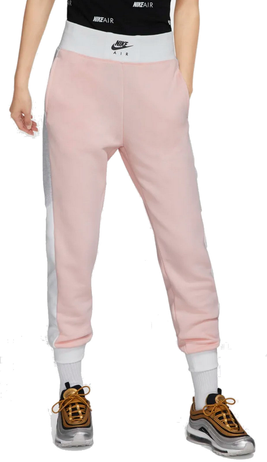 pantalon nike femme rose