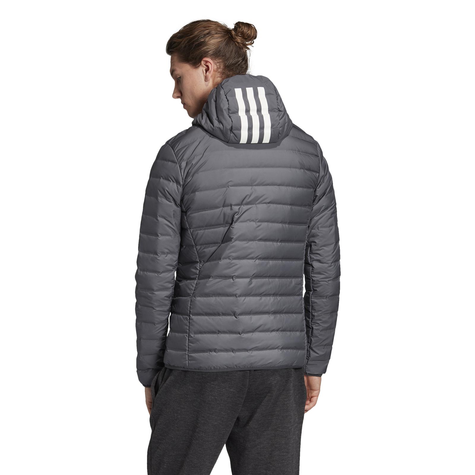 Details zu adidas Performance Herren Daunenjacke Varilite Soft 3S Soft Hooded carbon