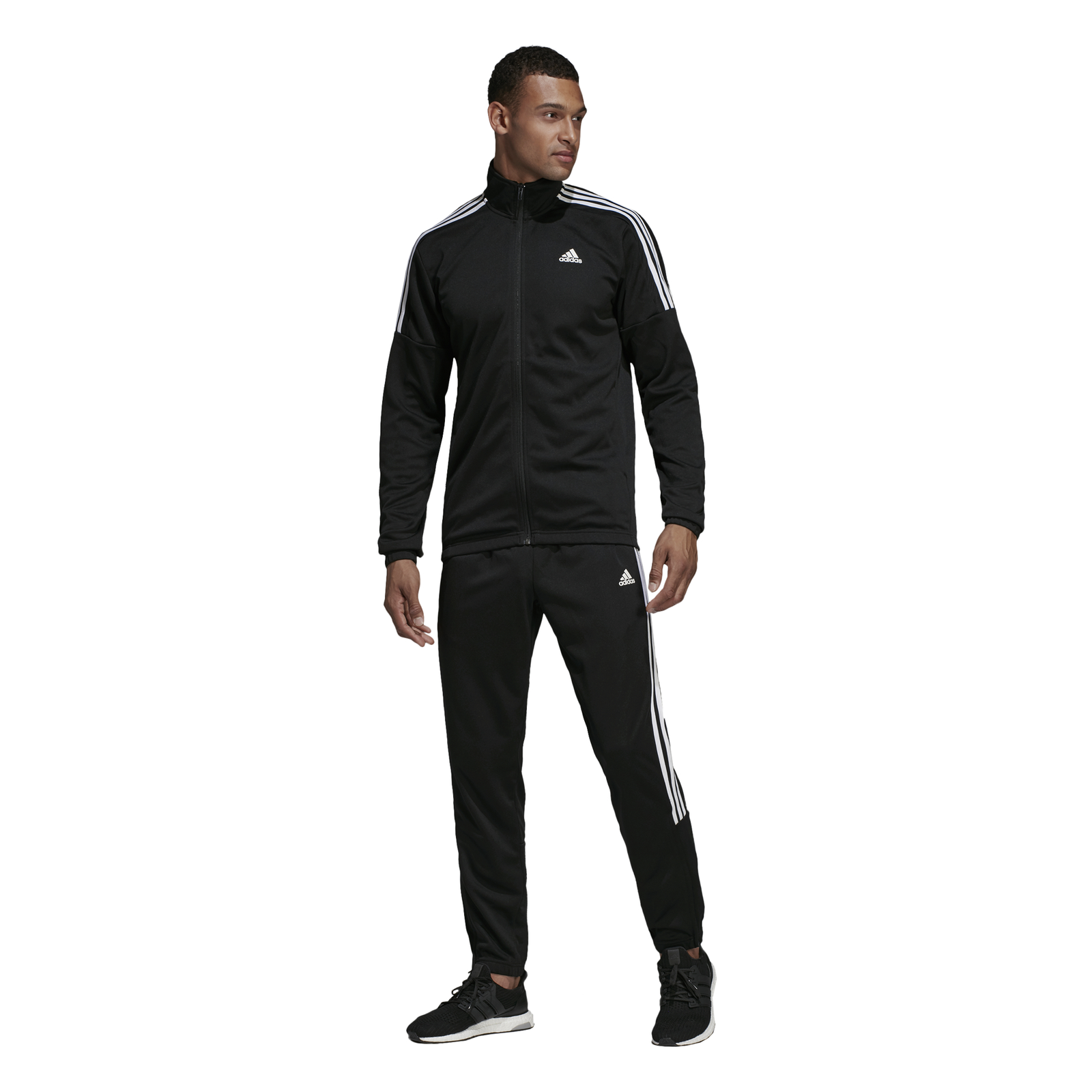 Details about Adidas Performance Mens Sport Tracksuit Team Sport Tracksuit Black show original title