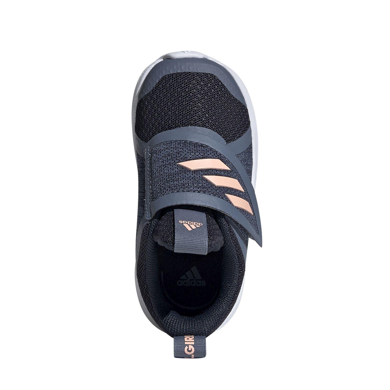 adidas Performance Kleinkinder Kinder Freizeit Klett Schuhe FortaRun X CF I blau