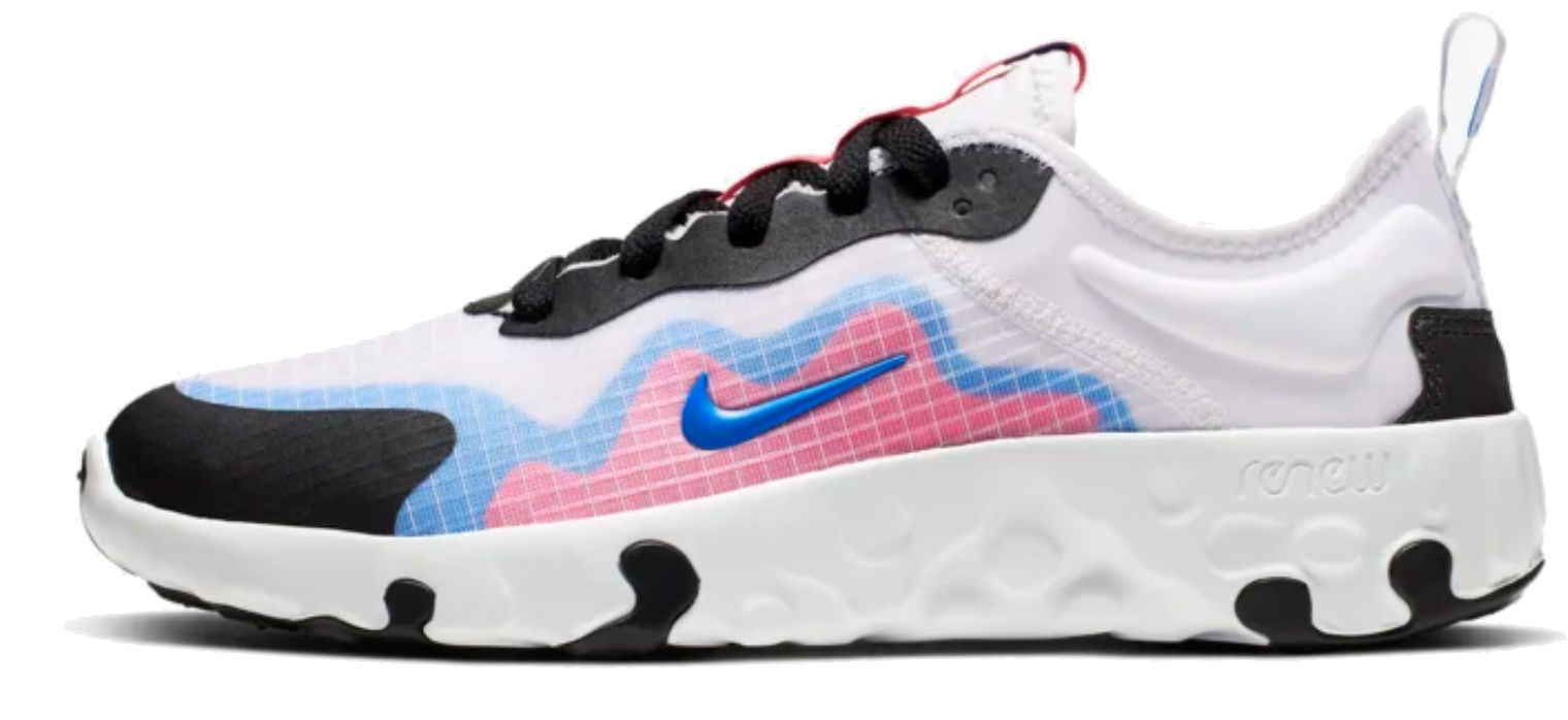 Details about Nike kids running shoes breathable leisure renew lucent white pink show original title