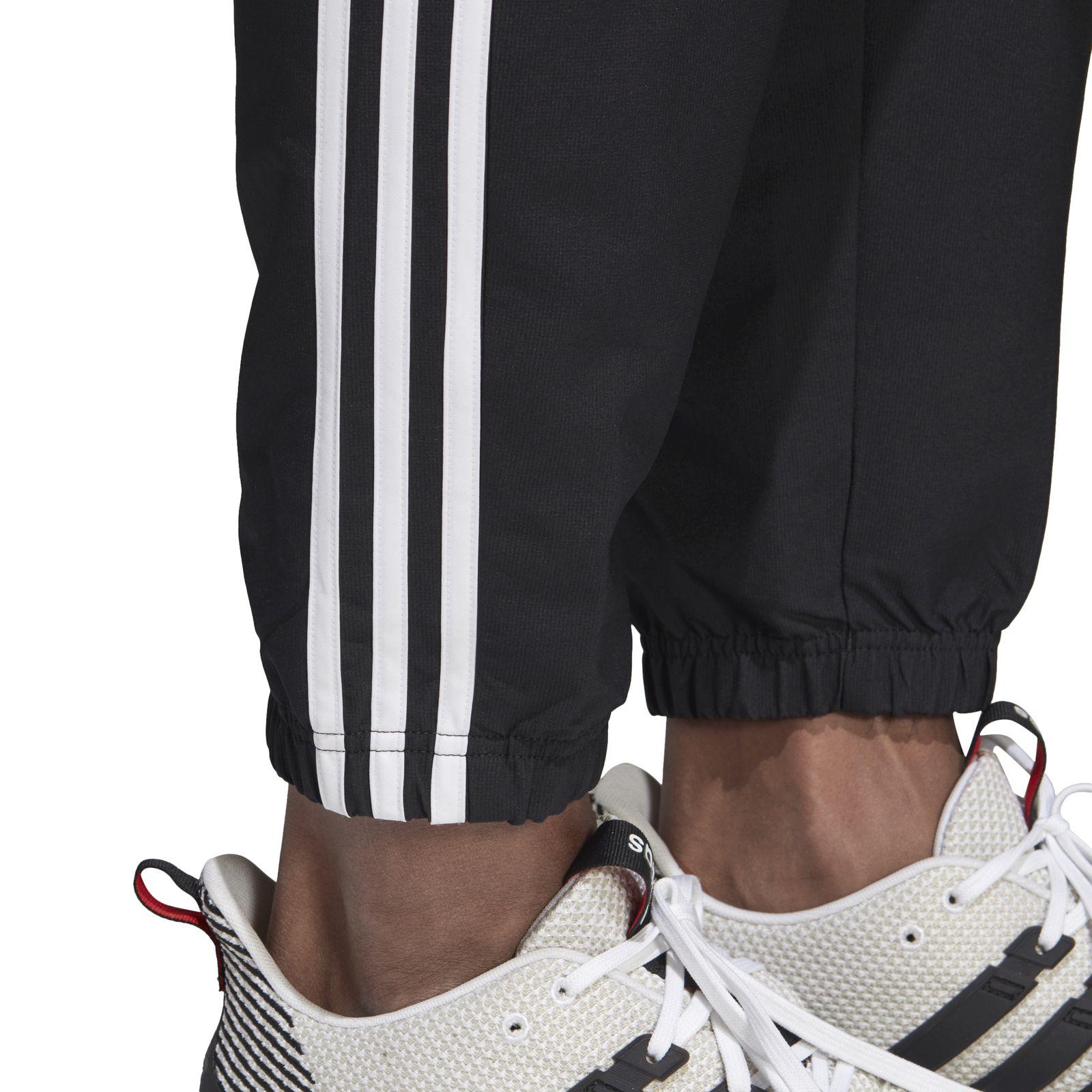 Details about Adidas Mens Training Jogging Pants Essentials 3 Stripe Wind Pant Black show original title