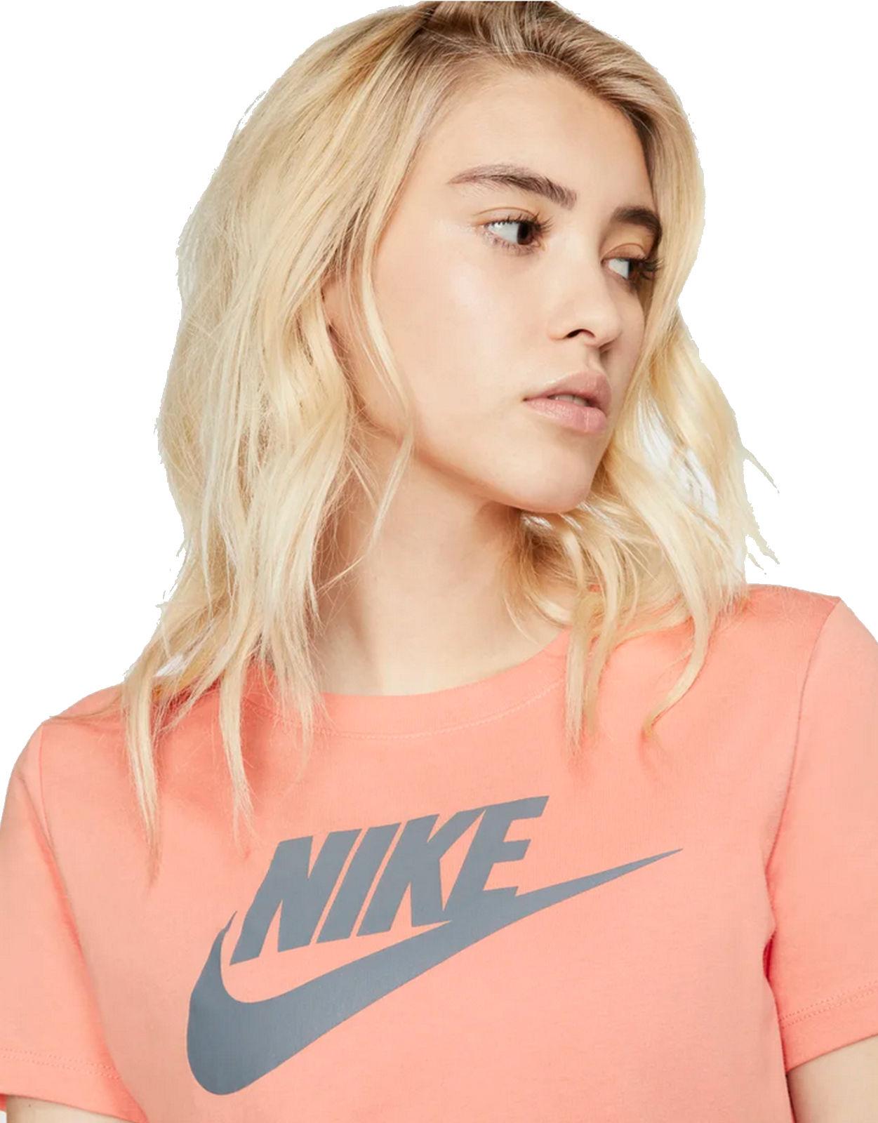 Tee Pink Details Women Futura about Fitness T Shirt Training Sleeve Icon Essntl Nike short WBoerdCx