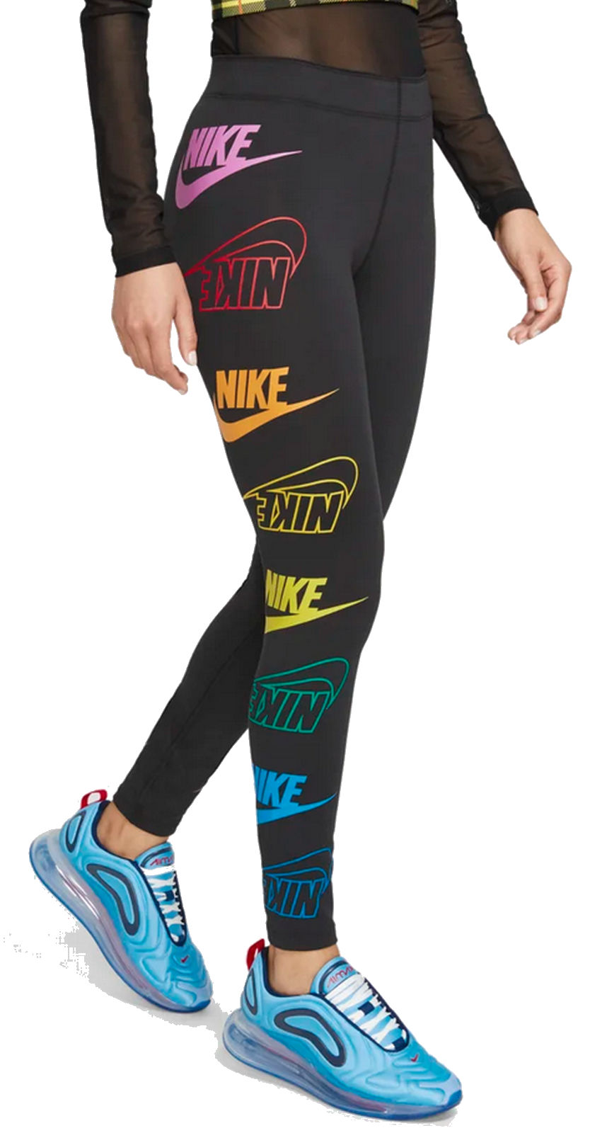 Nike Coloured title about NSW Leg Details Pants Ladies Sea Black show Fitness O Training original Leggings Multi Nike DY9EHbeW2I