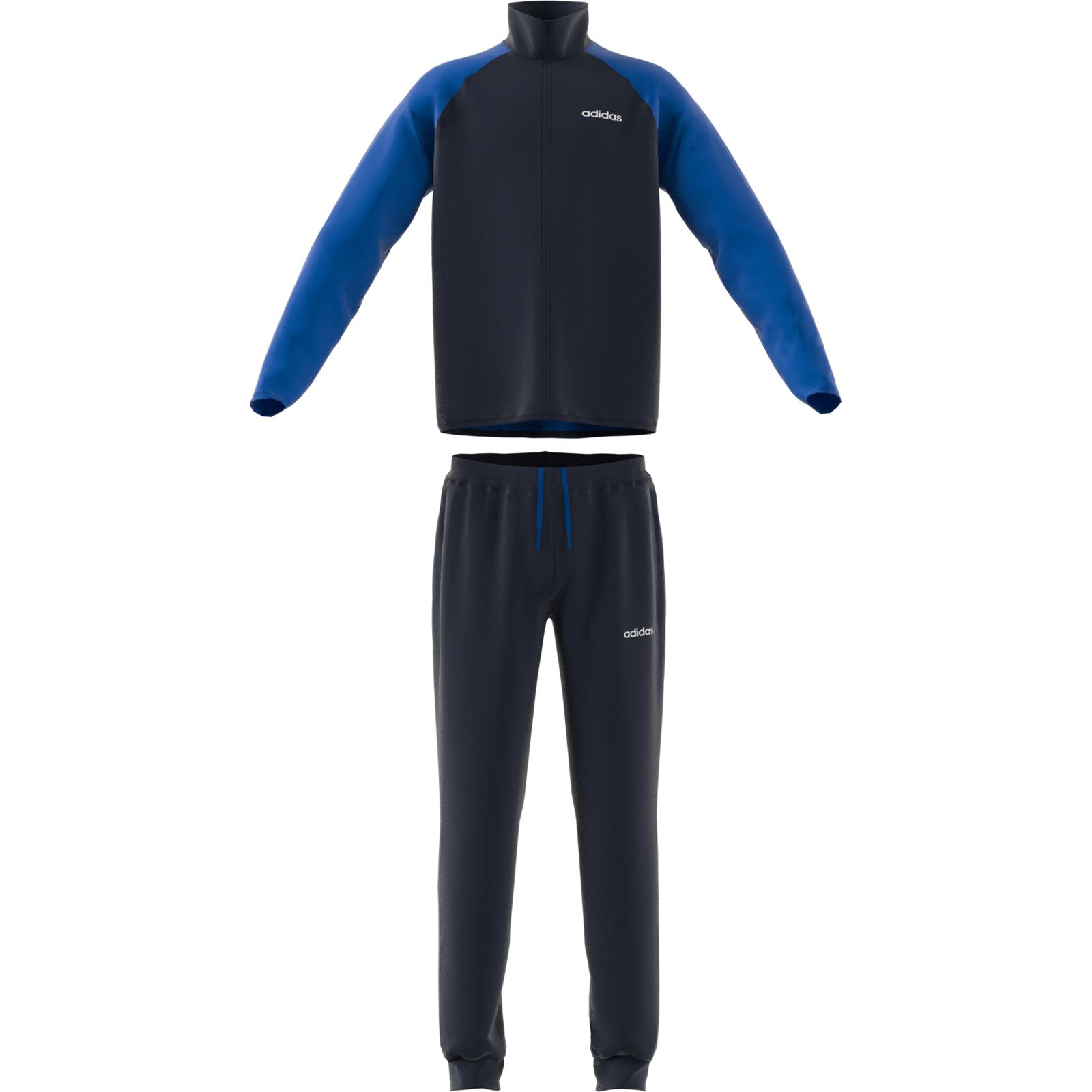 Details zu adidas Performance Kinder Trainingsanzug Essentials Linear Tracksuit legend ink
