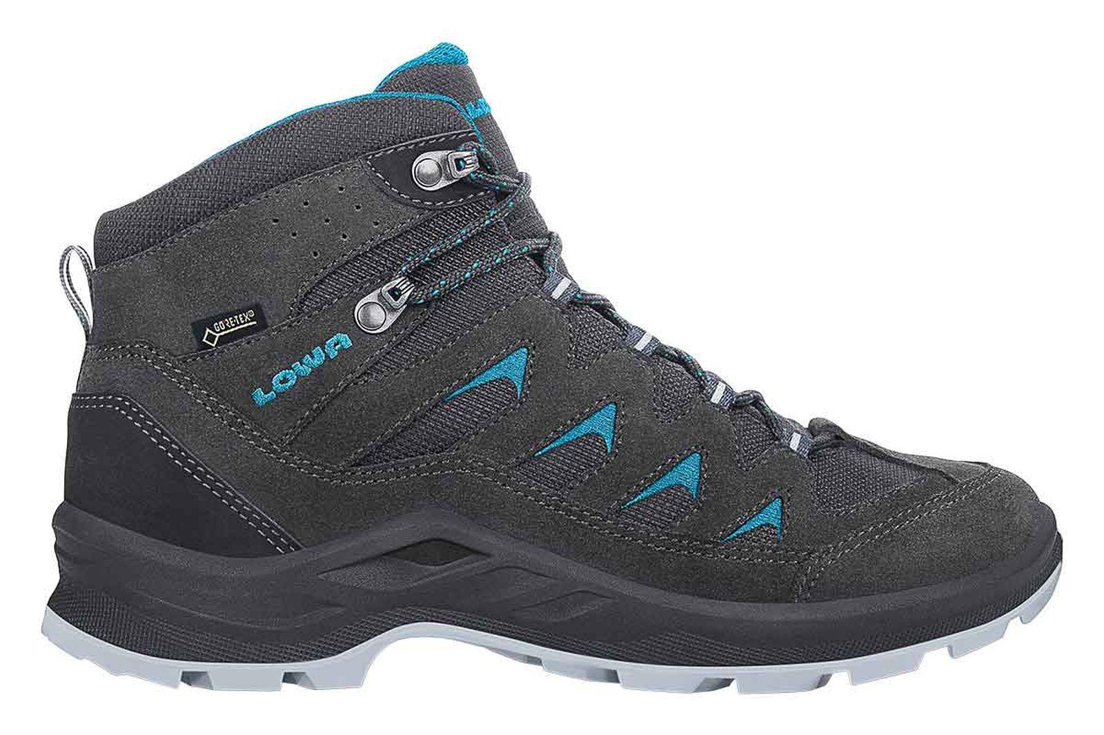 Details zu Lowa Damen Trekking Schuh LEVANTE GTX Gore Tex Ws All Terrain anthrazit türkis