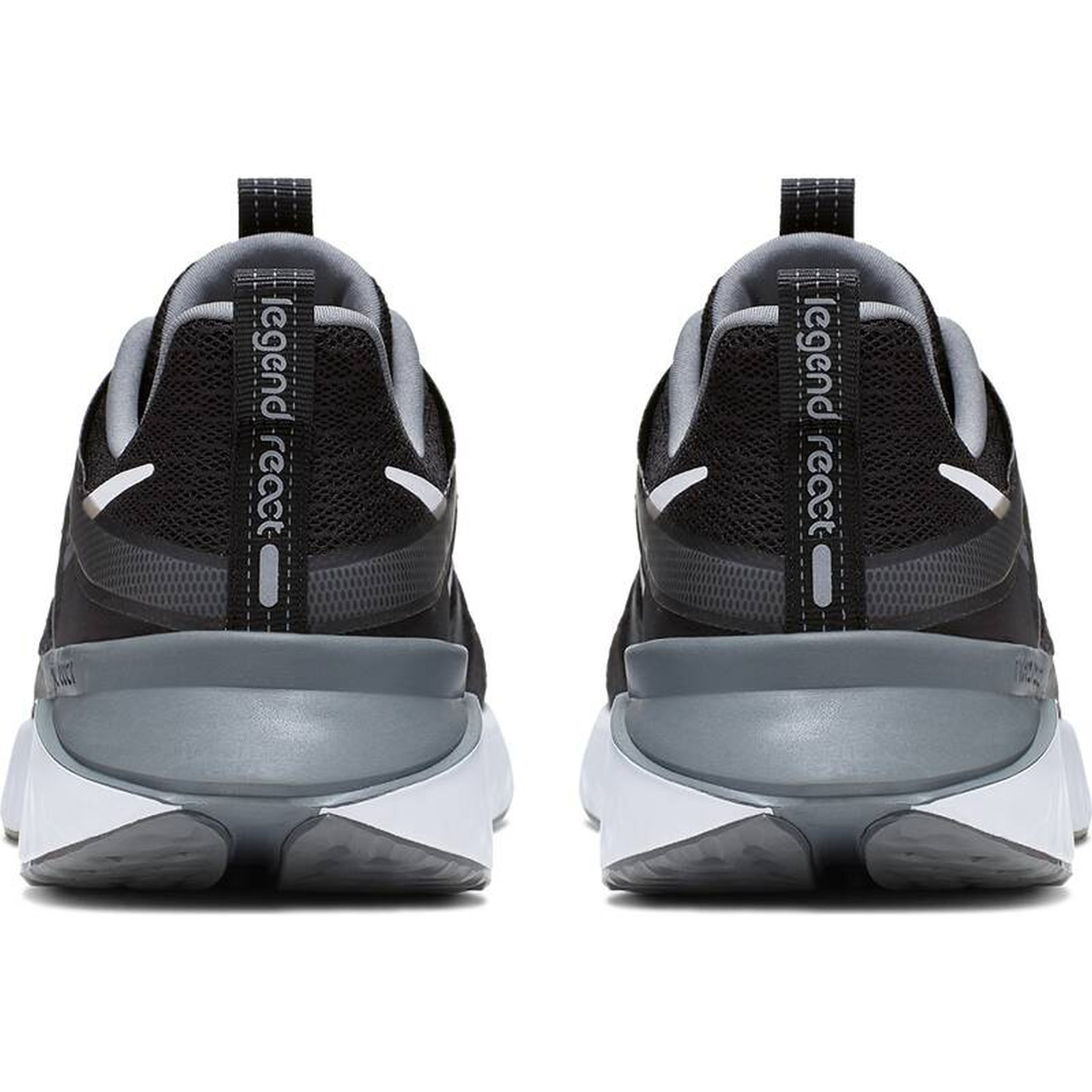 Details about Nike Men's Running Shoes Casual Shoes Nike Nike Legend React 2 Black White Grey