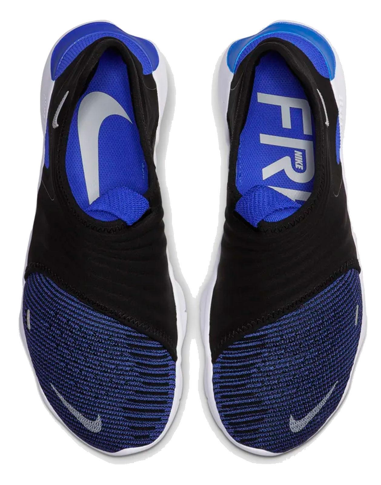Détails sur Nike Homme Lauf Freizeit Schuhe Baskets Nike Free Rn Flyknit 3.0 Bleu Noir