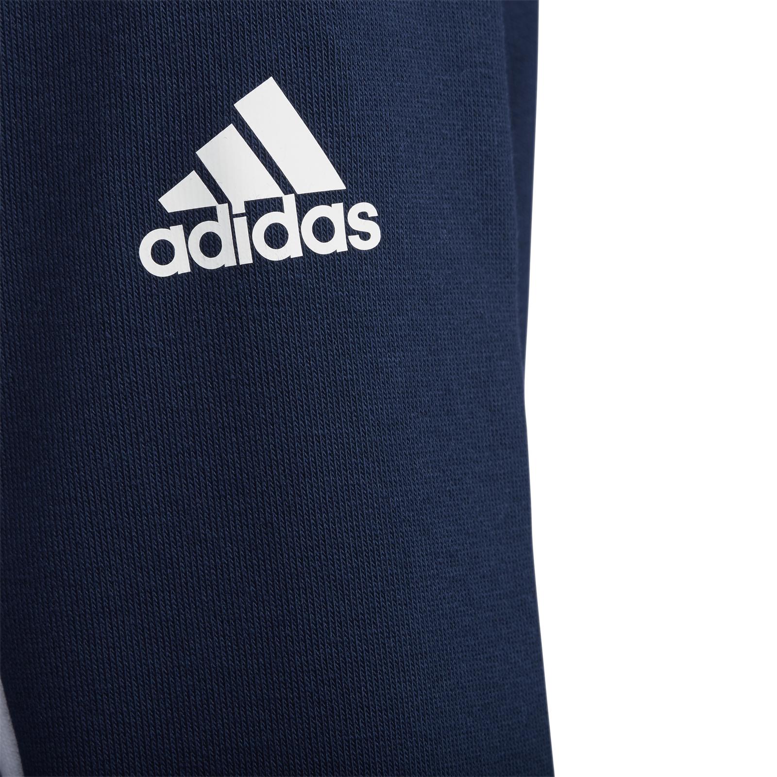 adidas Performance Kinder Trainings Sport Jacke Football Track Top navy rot weiß