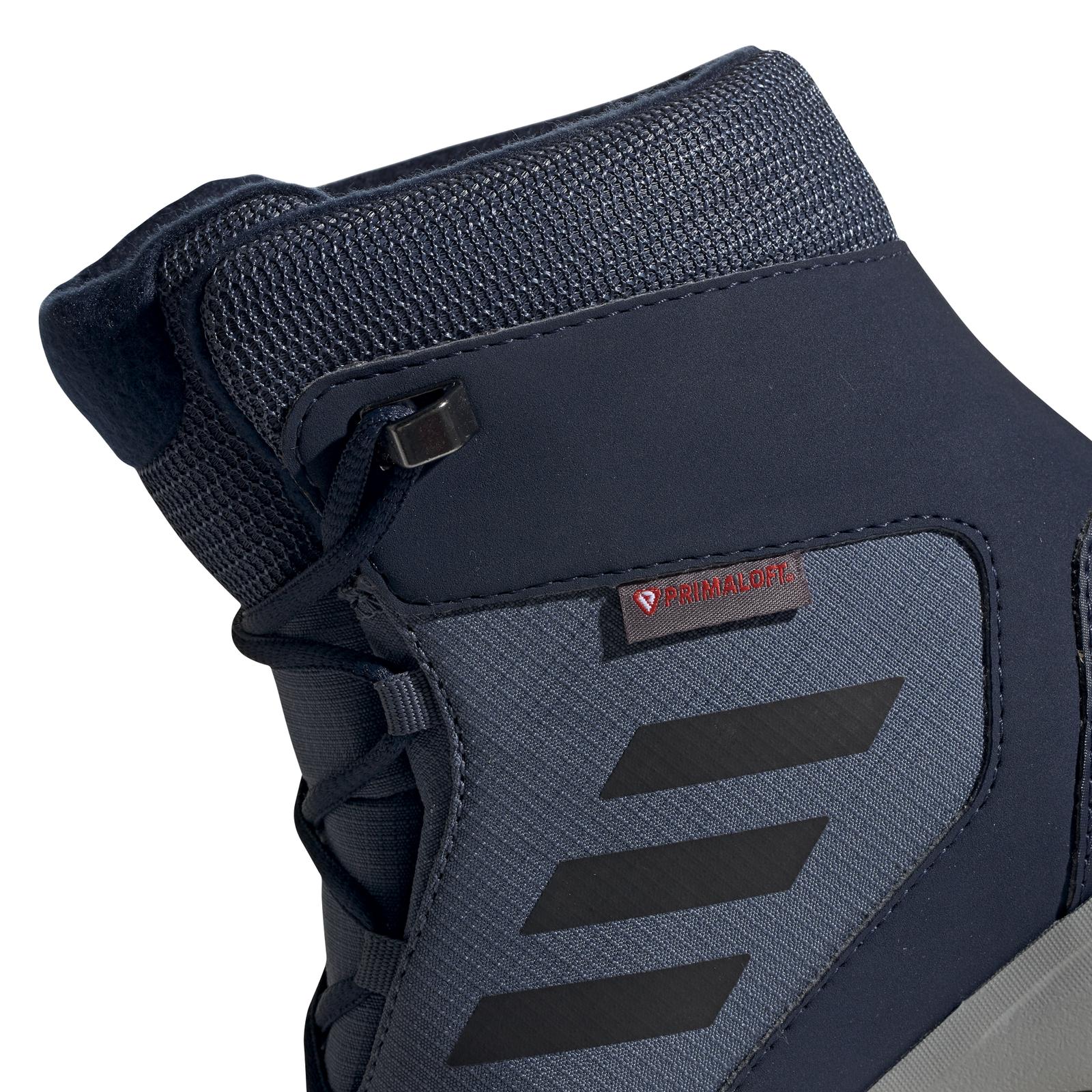 Detalles de Adidas niños jóvenes invierno outdoor zapato Terrex snow CF CP CW K azul negro ver título original