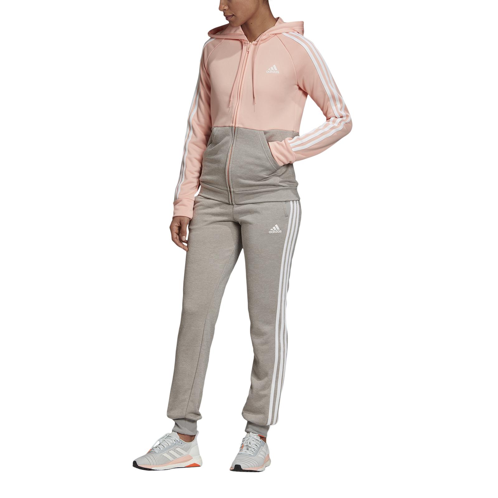 Détails sur Adidas Perfomance Femme Fitness Survêtement Femme Survêtement Game Temps Rose
