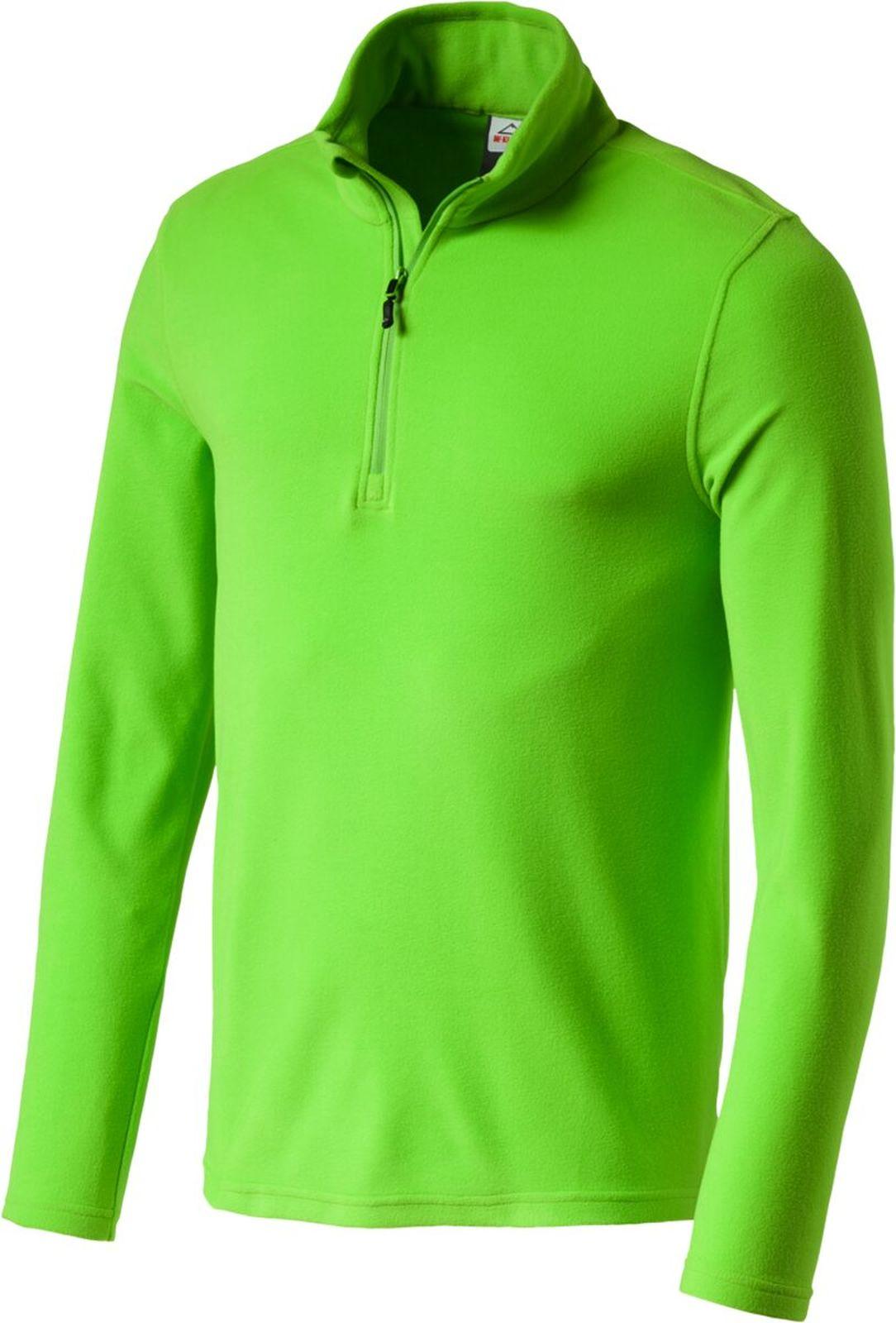 McKinley Herren Ski-Fleece Rolli Sweatshirt CORTINA II schwarz