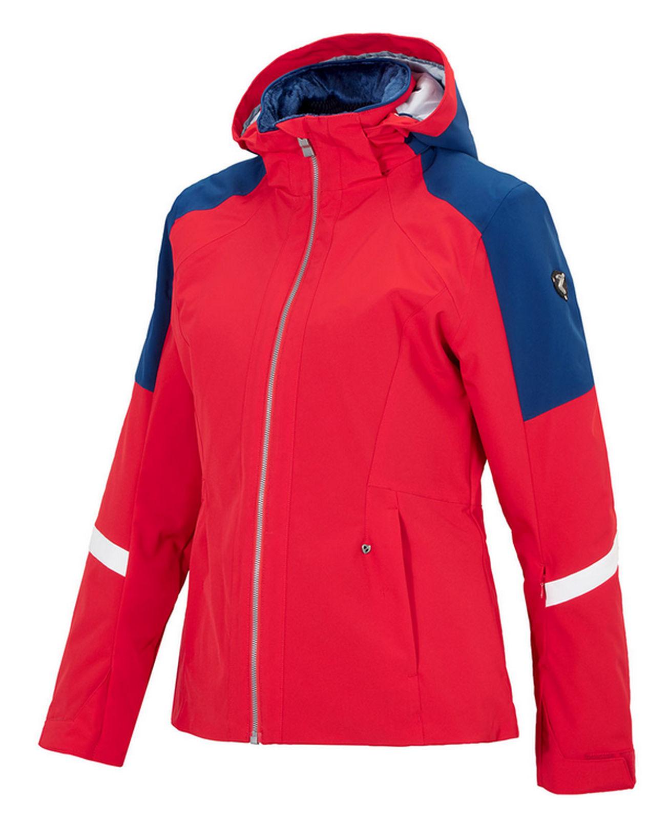 Details zu Ziener Damen Ski Jacke Winterjacke trendige Skijacke TRINE LADY rot blau