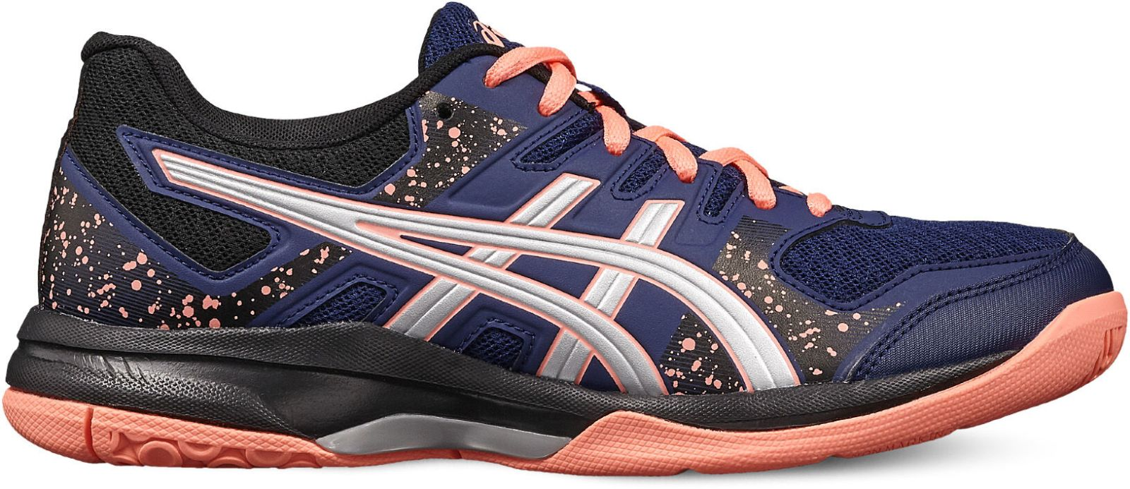 Details about Asics Womens Handball Sports Halls Shoe Gel Flare 7 W Blue  Silver- show original title