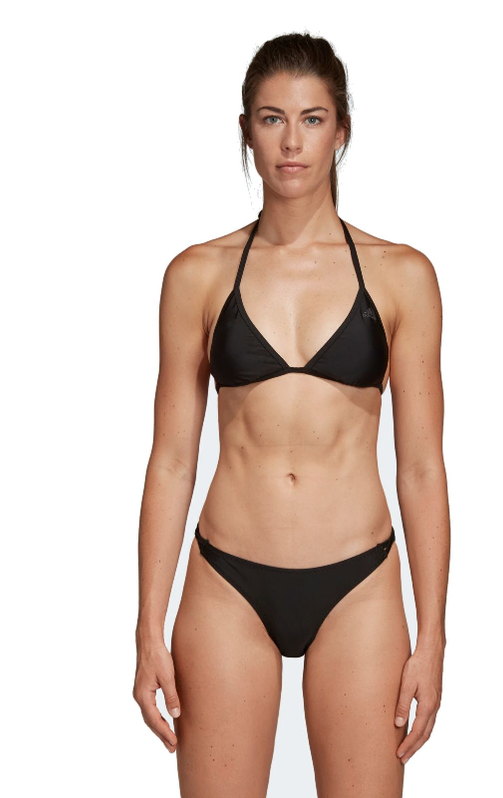 Details about Adidas Performance Women's Bikini Solid Triangle Black