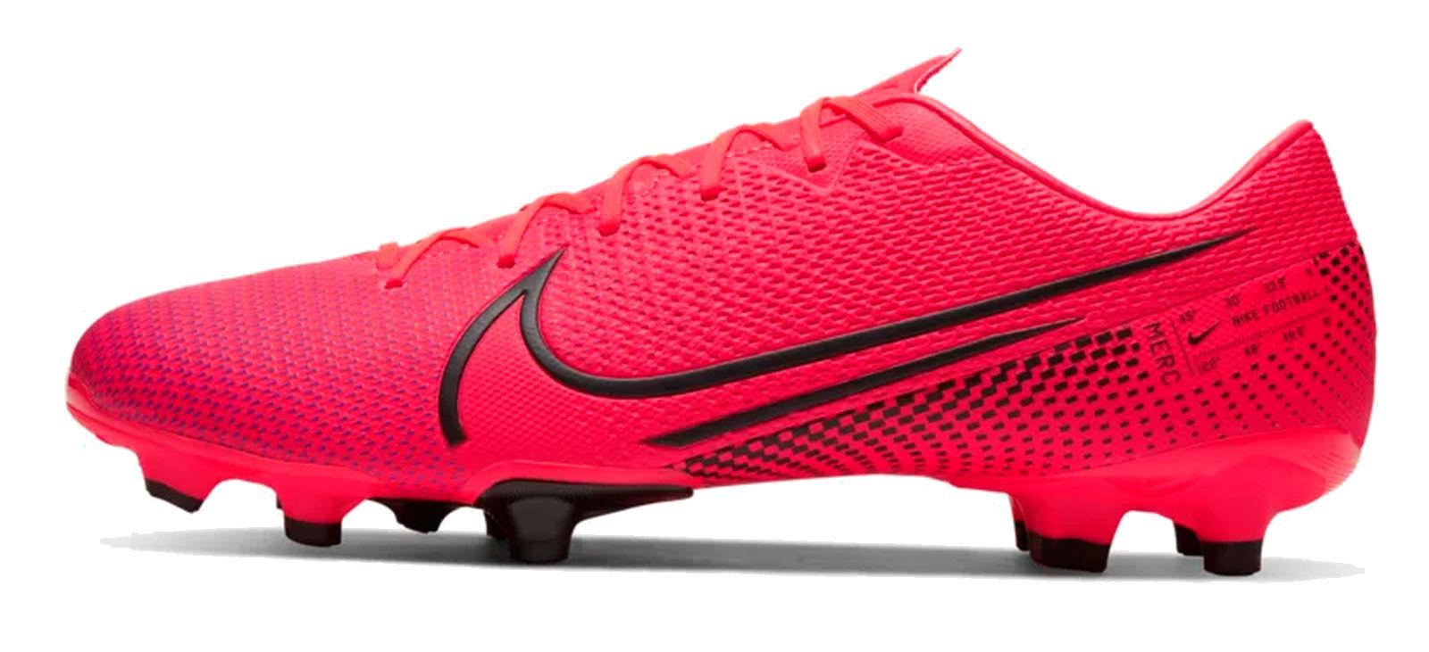 Détails sur Nike Hommes Chaussures de Came Football Mercurial Vapor 13 Académie MG Rouge