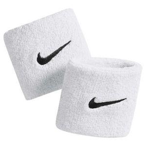 Nike Schweißband SWOOSH WRISTBANDS weiss