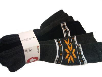etirel Helen Unisex Skistrümpfe 3er Pack grau/schwarz