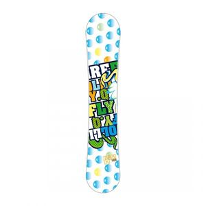 FIREFLY Jollify Q Kinder Snowboard weiss/multicolor + FIREFLY Soft-Bdg.C2 Overall Jr.