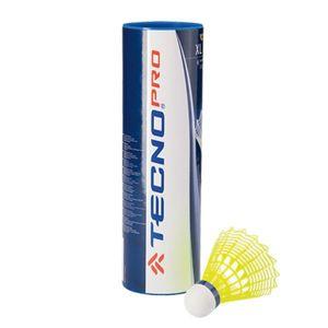 Tecno Pro Badminton Ball XL 400 Mittel 6er Pack gelb
