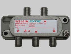 Axing SVE 4-01 Sat-Verteiler 4-fach
