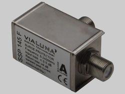 10+1 Stück VIALUNA SSP 145 F - SAT/BK Überspannungsschutz / Blitzschutz ClassA