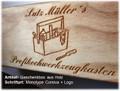 Geschenkverpackung / Geschenkbox aus Holz