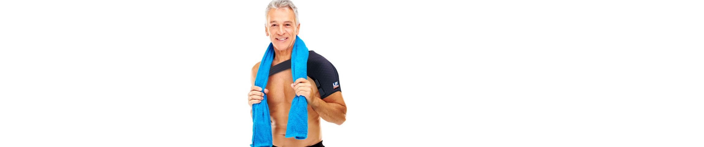 Beweglich bleiben - Bandagen schützen die Gelenke