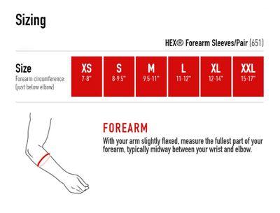 McDavid 651 Unterarmschutz mit HexPad – Bild 4