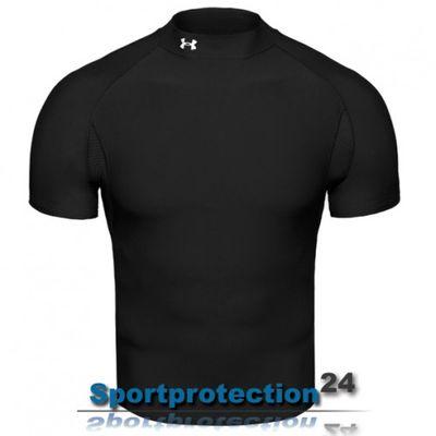 Under Armour Coldgear Kurzarm Funktions-Shirt - EVO Mock – Bild 1
