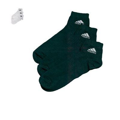 Adidas Baumwoll Socken - Sportsocken (3 Paar) – Bild 1