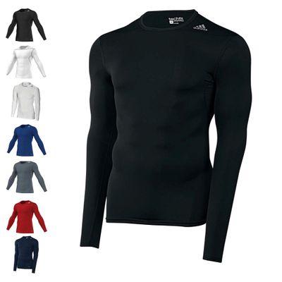 Adidas Techfit Base Longsleeve Shirt - Langarm Funktionsshirt – Bild 1