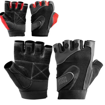 Better Bodies Pro Lifting Fitness Handschuhe Unisex 001