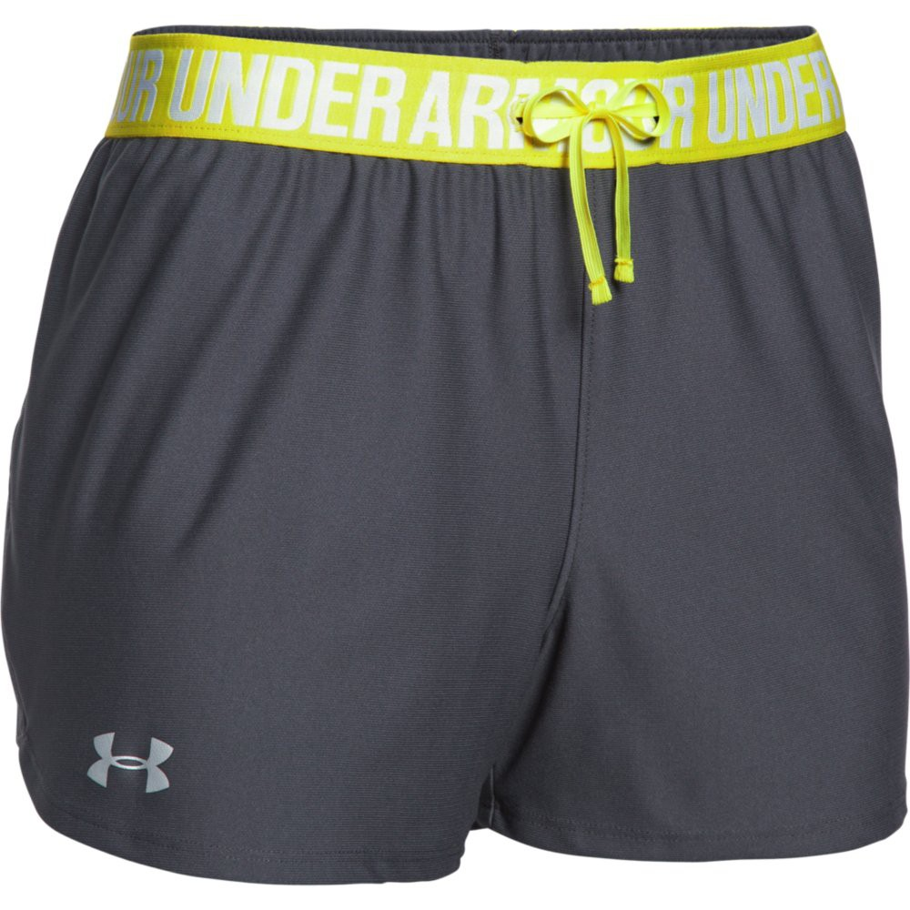 under armour damen short play up. Black Bedroom Furniture Sets. Home Design Ideas