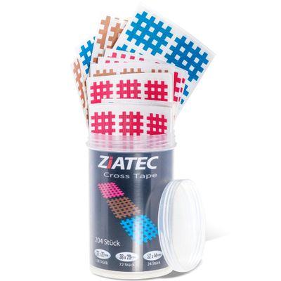 Ziatec Cross Tapes mit 102 oder 204 Pflaster + Ziatec Tape Schutzdose – Bild 4