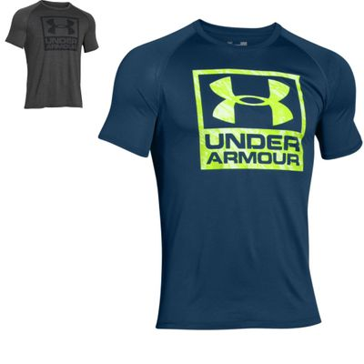 Under Armour Herren Boxed Logo Shirt