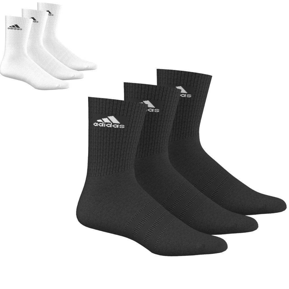 hochwertiges Design auf Füßen Bilder von billig zu verkaufen Details zu Adidas Baumwoll Socken - Sportsocken - Sportstrümpfe -  Sport-Socken (3 Paar)
