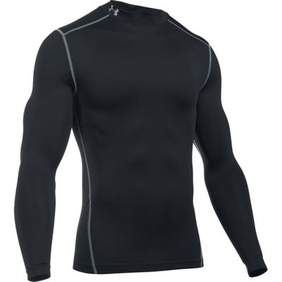 Under Armour Herren Langarm Funktions-Shirt Coldgear Mock – Bild 4