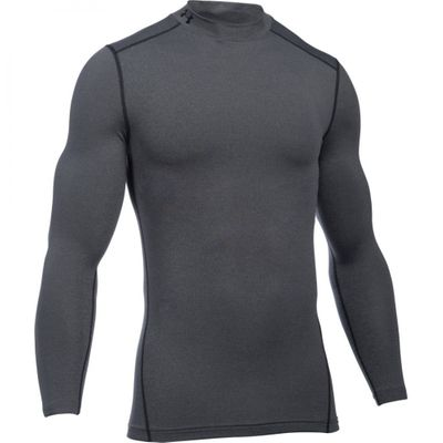 Under Armour Herren Langarm Funktions-Shirt Coldgear Mock – Bild 5